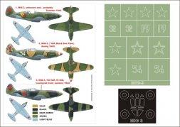 MiG-3 Super Mask for ICM 1:48