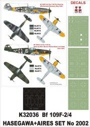 Bf 109F-2/4 Super Mask for Hasegawa 1:32