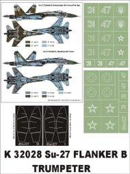 Su-27 Flanker B Super Mask 1:32