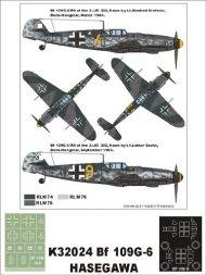 Bf 109G-6 Super Mask for Hasegawa 1:32