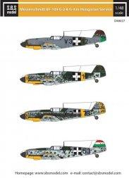 Messerschmitt Bf-109G-2, G-4 in Hungarian Service 1:48