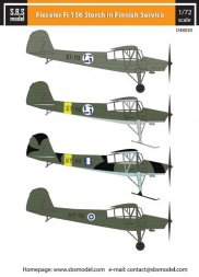Fieseler Fi-156 Storch in Finnish Service 1:48