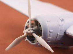 Bristol Blenheim propeller set for Airfix 1:72