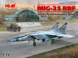 MiG-25RBF Foxbat-D 1:72