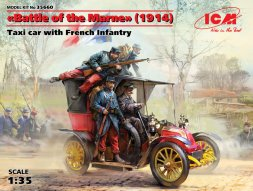 Renault Type AG 9 with French Infatntry 1:35