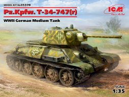 PzKw 747(r) (T-34) Beutepanzer 1:35