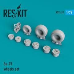 Su-25 wheels set 1:72