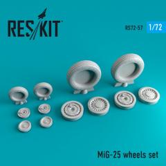 MiG-25 wheels set 1:72