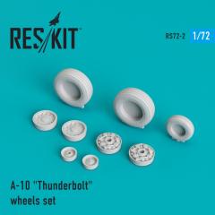 A-10 Thunderbolt wheels set 1:72