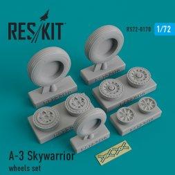 A-3 Skywarrior wheels set 1:72