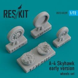 A-4 Skyhawk early version wheels set 1:72
