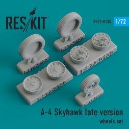 A-4 Skyhawk late version wheels set 1:72