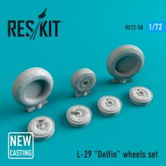 L-29 wheels set 1:72