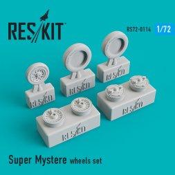 Dassault Super Mystère wheels 1:72