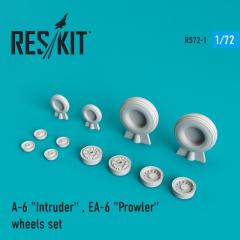 A-6 Intruder / EA-6 Prowler wheels set 1:72