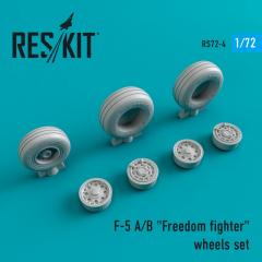 F-5 A/B Freedom fighter wheels set 1:72