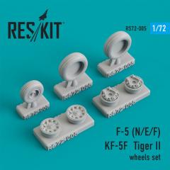 F-5 (F/E/N), KF-5F Tiger II wheels set 1:72