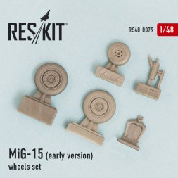 MiG-15 (early version) wheels set 1:48