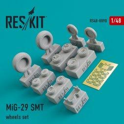 MiG-29SMT wheels set 1:48