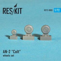 Antonov AN-2 Colt wheels set 1:72