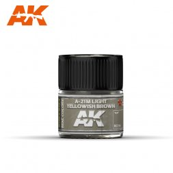 A-21M Light Yellowish Brown 10ml
