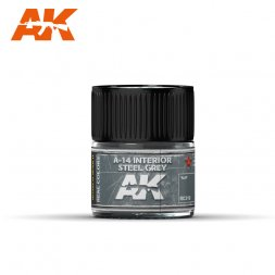 A-14 Interior Steel Grey 10ml