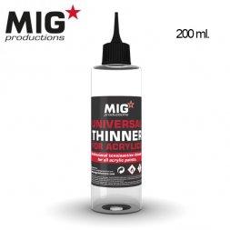 Acrylics universal Thinner 200ml