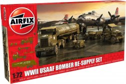 USAAF 8th Air Force Bomber Resupply Set WWII 1:72