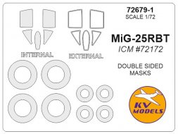 MiG-25R mask (double sided) for ICM 1:72