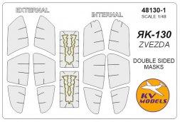 Yak-130 mask (double sided) for Zvezda 1:48