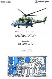 Mil Mi-24V/VP/P exterior 1:72