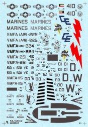 F/A-18 A/C/D (CR) Hornet 1:72