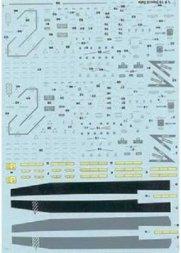 F/A-18 A/B/C/D Stencil Data 1:48