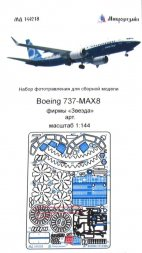 Boeing 737 MAX 8 detail set for Zvezda 1:144