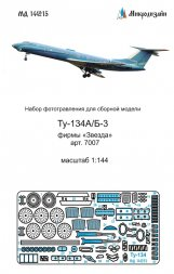 Tu-134A/B-3 detail set for Zvezda 1:144
