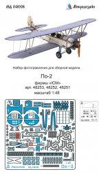 Po-2/ U-2 detail set for ICM 1:48