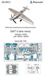 LaGG-3 detail set for ICM 1:48