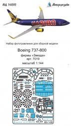 Boeing 737-800 detail set for Zvezda 1:144