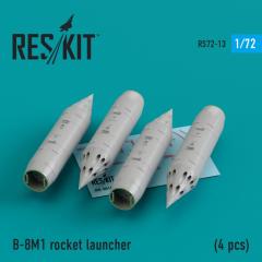 B-8M1 rocket launcher 1:72