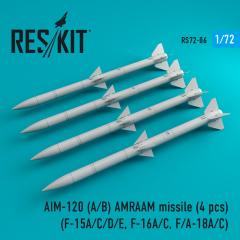 AIM-120 (A/B) AMRAAM missile 1:72