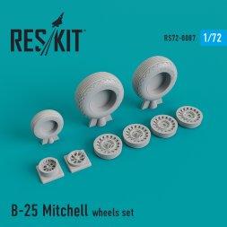 B-25 Mitchell wheels set 1:72