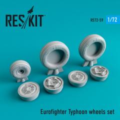 Eurofighter Typhoon wheels set 1:72