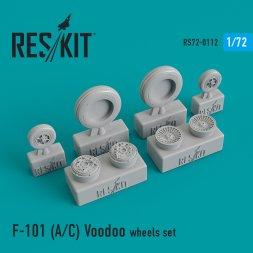 F-101 (A/C) Voodoo wheels set 1:72