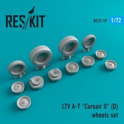 A-7D Corsair II wheels set 1:72