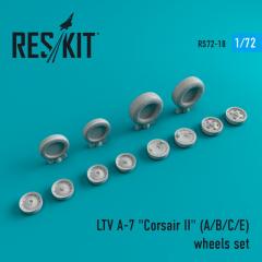 A-7 (A/B/C/E) Corsair II wheels set 1:72