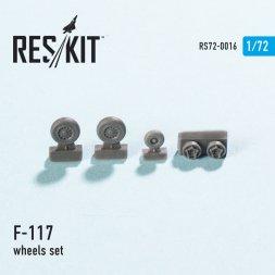 F-117 wheels set 1:72
