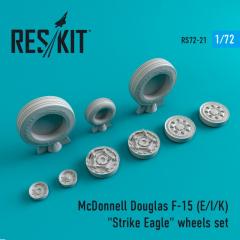 F-15 (E/I/K) Strike Eagle wheels set 1:72