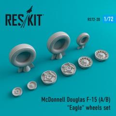 F-15 (A/B) Eagle wheels set 1:72