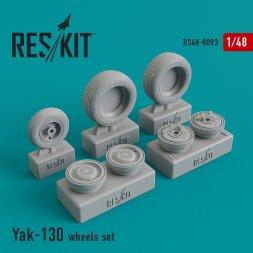 Yak-130 wheels set 1:48