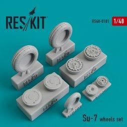 Su-7 wheels set 1:48